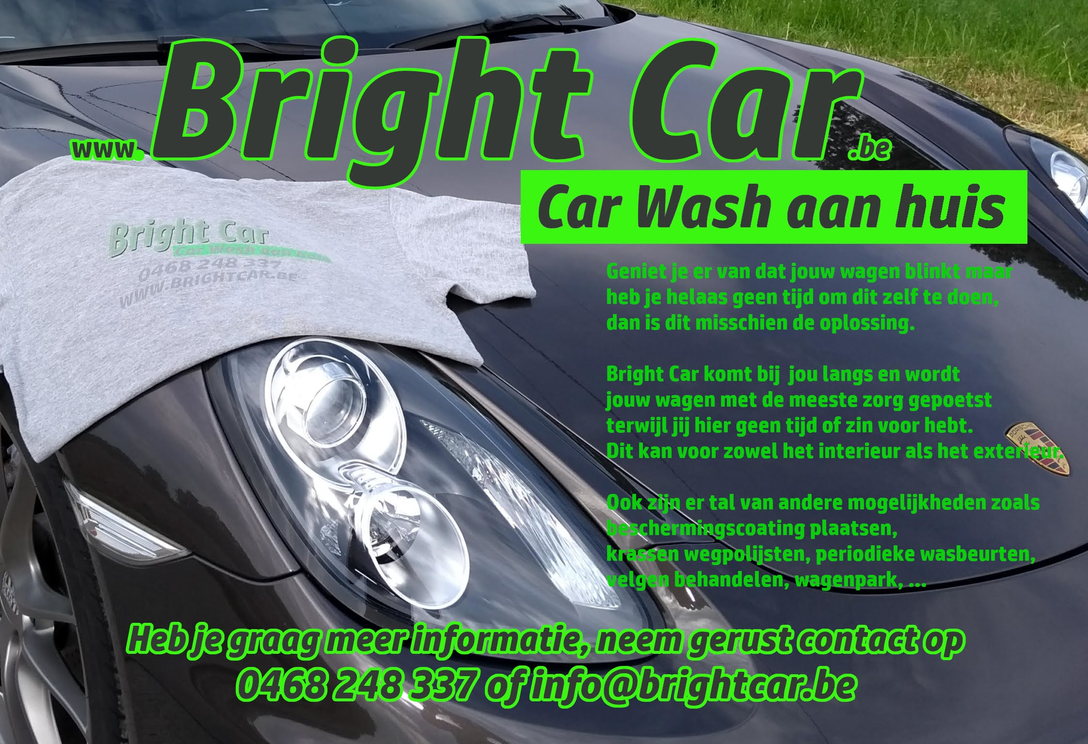 Bright Car flyer